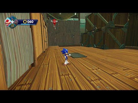 Let's Play Sonic Boom [Coop] Partie 11 : Sonic et les rebords