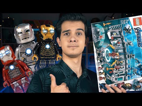 LEGO Мстители 4 - КОСТЮМЫ ЖЕЛЕЗНОГО ЧЕЛОВЕКА (76125)