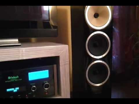 mcintosh ma 6600 mcintosh mvp 861 b w cm9 youtube. Black Bedroom Furniture Sets. Home Design Ideas