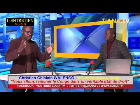 """ENTRETIEN DU JOUR. Christian Walengo: """"Nous allons ramener le Congo dans un véritable Etat de droit"""""""