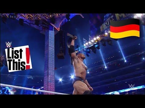 5 Superstars mit den meisten WrestleMania-Siegen: WWE List This! (DEUTSCH)
