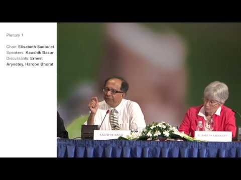 TIS Conference - Institutions, Law and Development (Plenanry 1 3/3)