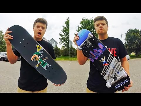Setting Up The Best Skateboard EVER