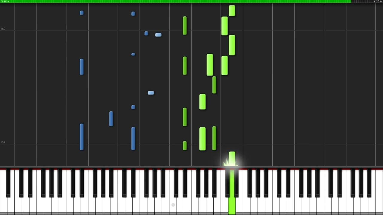 Bohemian Rhapsody - Queen [Piano Tutorial] (Synthesia) // Lucky Piano