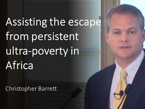 Assisting the escape from persistent ultra-poverty in rural Africa