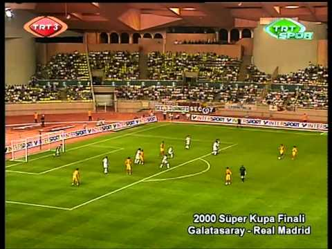 Hagi - All touch of the ball - Galatasaray 2x1 Real Madrid  - 2000 UEFA Super Cup