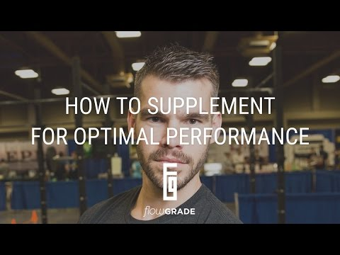 Flowgrade Show #39: Ryan Munsey - How To Supplement For Optimal Performance
