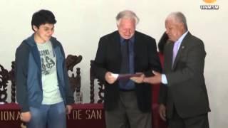 Estudiante Sanmarquino ocupó el 1er puesto en 6ta Olimpiada de matemáticas