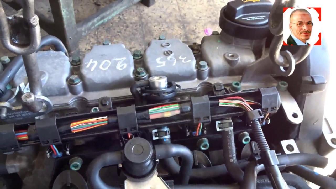الطريقة الصحيحة التى يتم بها غسل المحرك خارج السيارة@Mecanique Mokhtar Tunsie