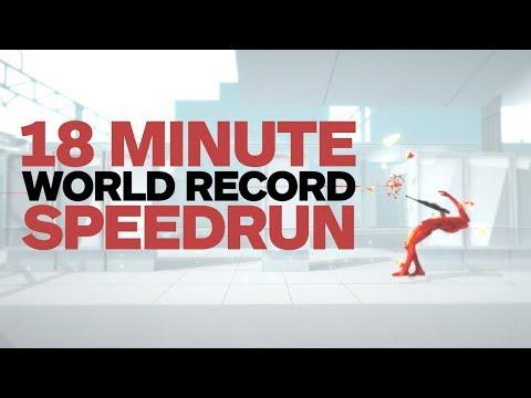 Superhot 18 Minute World Record Speedrun