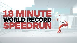 Superhot 18 Minute World Record Speedrun