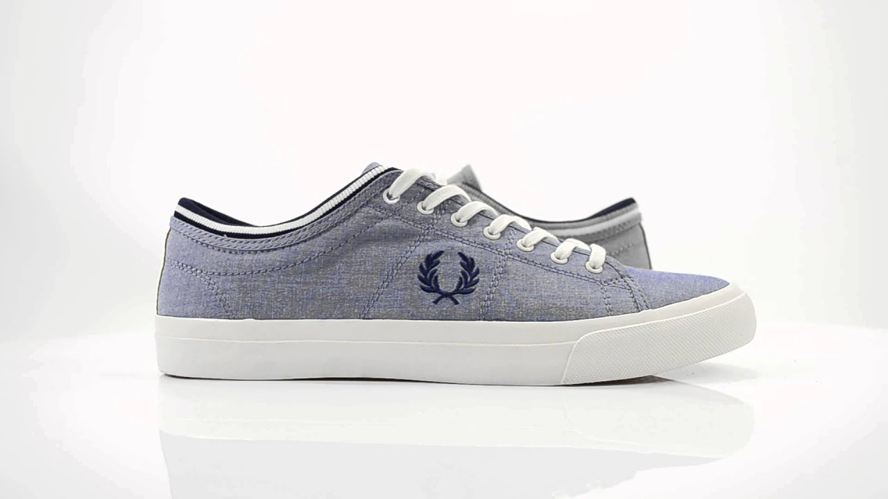 FRED PERRY MEN SHOES KENDRICK TIPPED CUFF SHIRTING