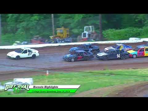 6 16 18 Cottage Grove Speedway Hornets Highlights