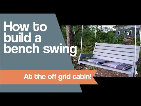 How To Build A Bench Swing