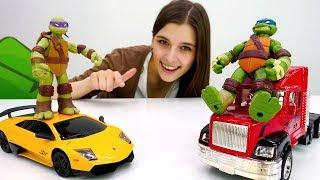 ToyClub шоу - Черепашки Ниндзя ищут Леонардо.