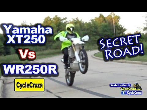 Yamaha WR250R vs XT250 | Secret Road Found | MotoVlog