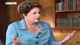 Dilma em entrevista à GloboNews - Novo ciclo e competitividade produtiva