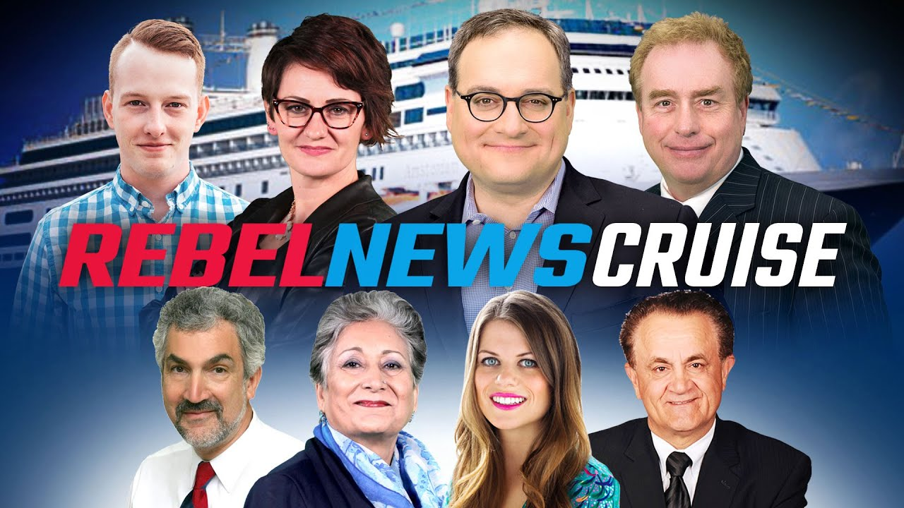 Join the Rebel News Alaska Cruise, July 4-11 2020 | Ezra Levant