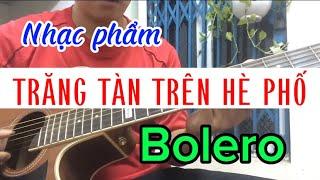 Trăng Tàn Trên Hè Phố guitar