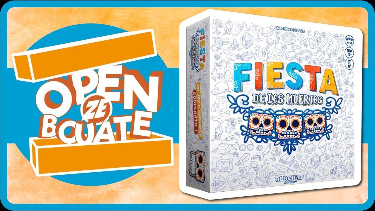 Buy Fiesta De Los Muertos Board Games Oldchap Editions