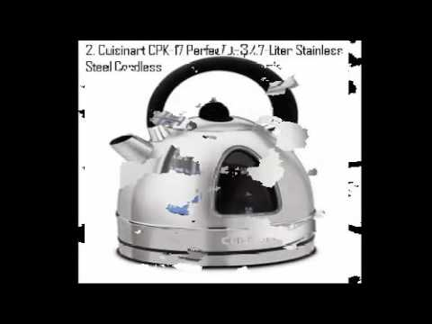 Top Electric Kettles by Cuisinart