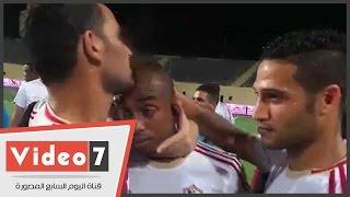بالفيديو.. بكاء ودموع صالح موسى عقب تتويج الزمالك ببطولة الدورى العام