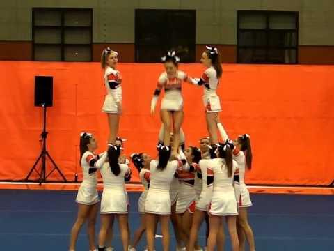 Beverly High School Cheerleading at MSSAA North Regionals 2012