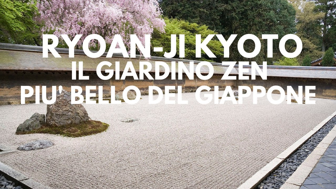 Fai Da Te Giardino Zen ryoan-ji, il giardino zen più bello del giappone - youtube