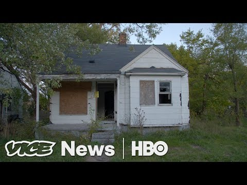 People Are Making Big Money Kicking Detroit Residents Out Of Their Homes (HBO)