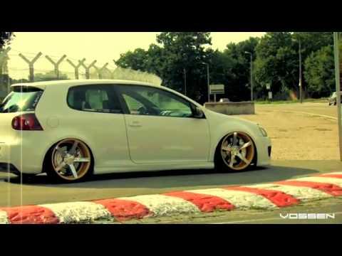 Volkswagen GTI MKV on 20 Vossen VVS-CV3 Concave wheels Rims - YouTube