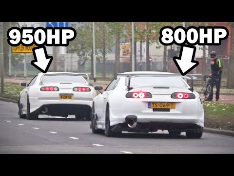 1750hp Supra combo!! (2-step launch control & powerslides)