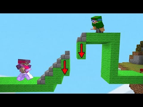 FAKE Staircase Fall Trap In Bedwars