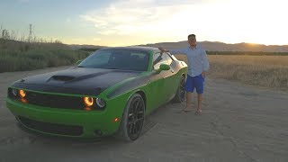 Is the 2017 Dodge Challenger a True Muscle Car? - REVIEW (Sub ENG)