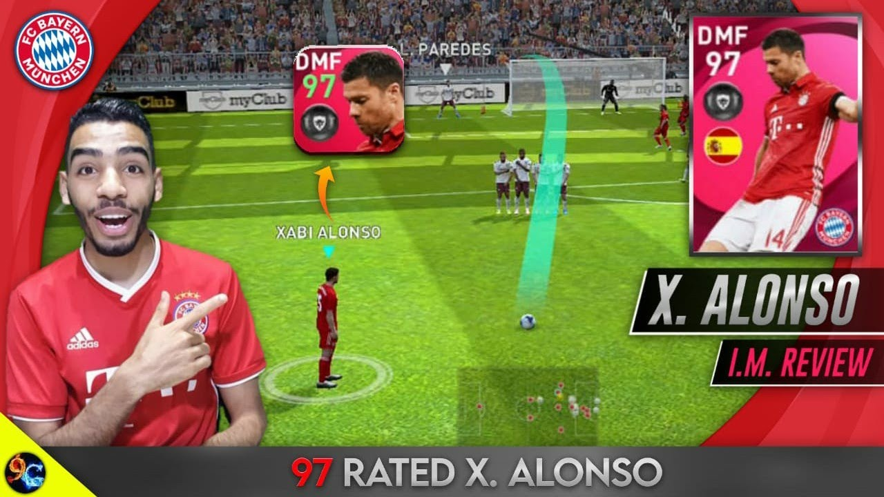 Iconic Moment Xabi Alonso 97 Rated Review 🔥 passing Master 👏 Pes 2021 mobile