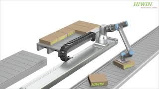Linearachsen – 7. Achse für Roboter (HIWIN)