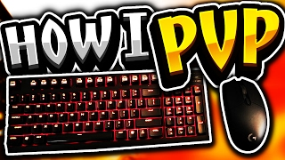 Keyboard + Mouse Cam - Minecraft PvP 1v1 Ranked