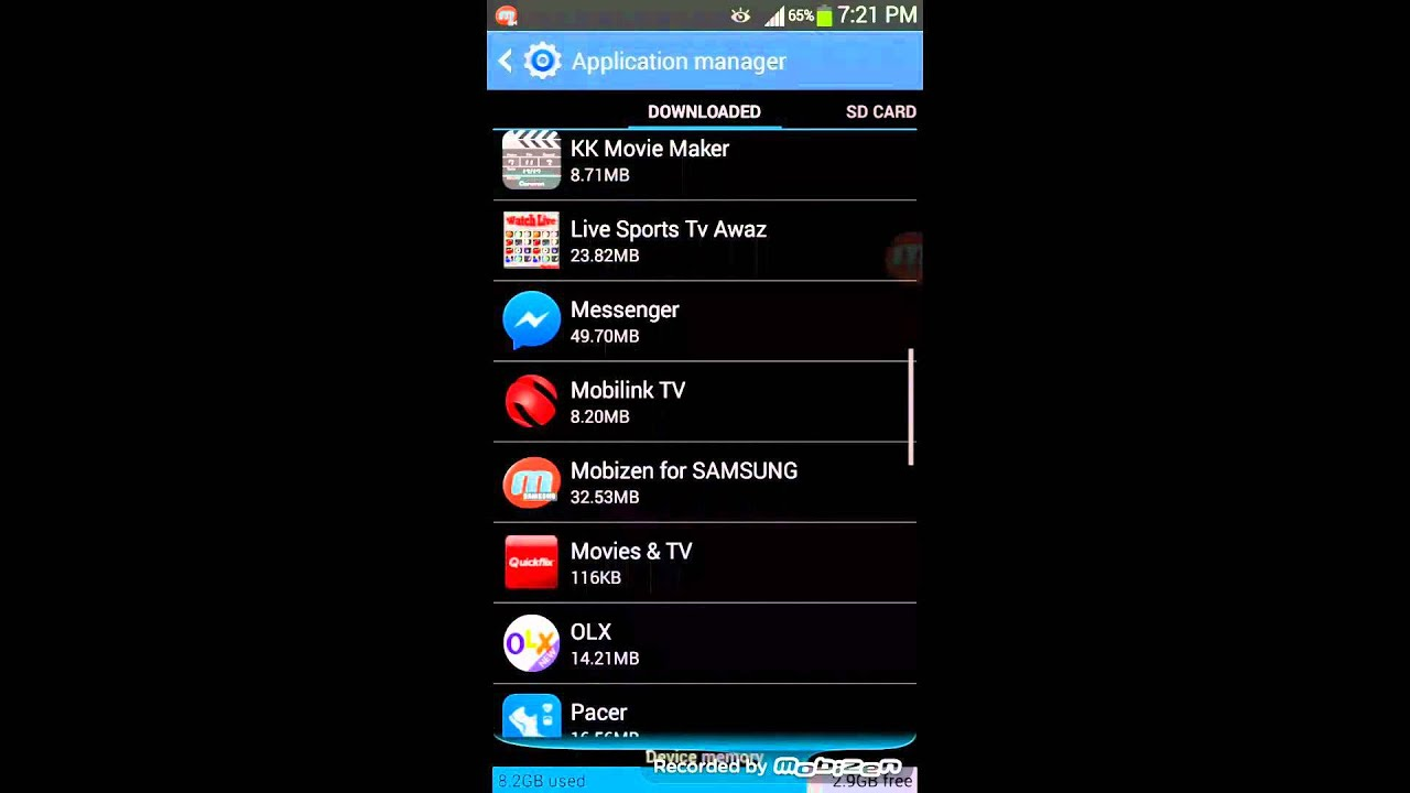 how to remove add on android app