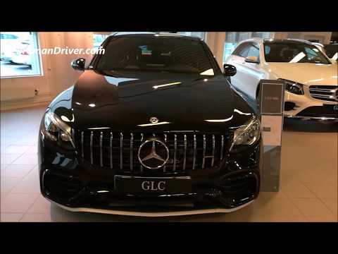 New Mercedes Benz GLC Coupe 2019 Walk Around Review AMG GT 63s