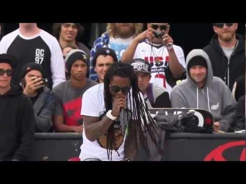 Lil Wayne-No Worries live (DEW Tour 2012) HD