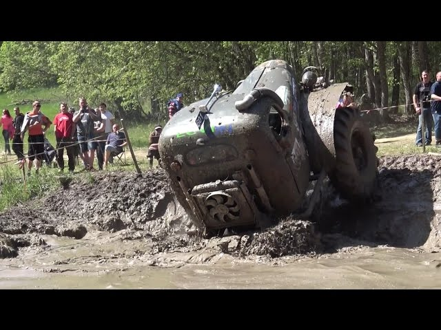 Off-Road Truck in Water pit in ORO