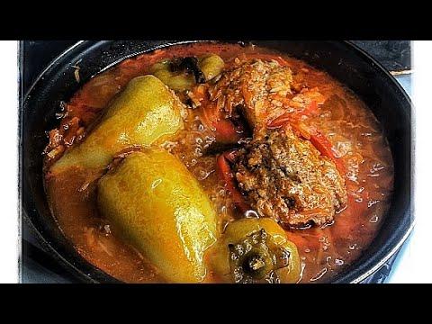 ФАРШИРОВАННЫЙ ПЕРЕЦ вкусный рецепт и очень просто готовить!