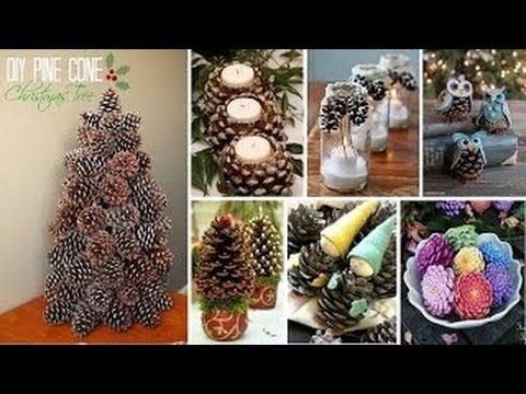Weihnachtsdeko Selber Machen Naturmaterialien Tannenzapfen