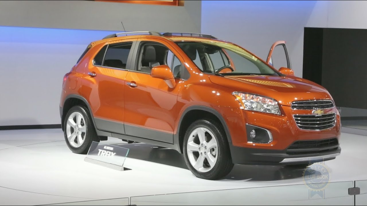 2015 Chevrolet Trax - 2014 New York Auto Show - YouTube