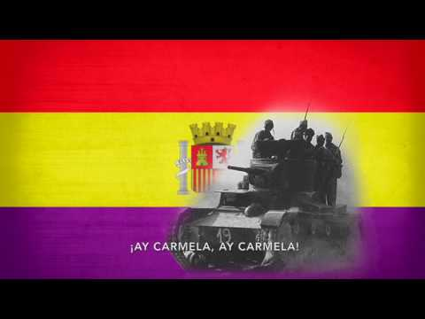 ¡Ay Carmela! - Song of the Spanish Republican troops (English lyrics)