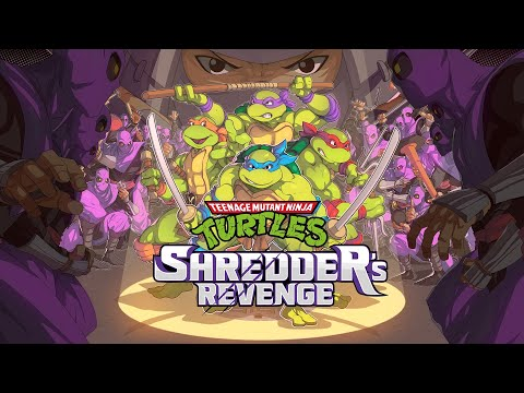 Teenage Mutant Ninja Turtles: Shredder's Revenge - Reveal trailer