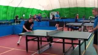 "Table tennis. Veteran tournament ""20 years later-2012"". Part 1"