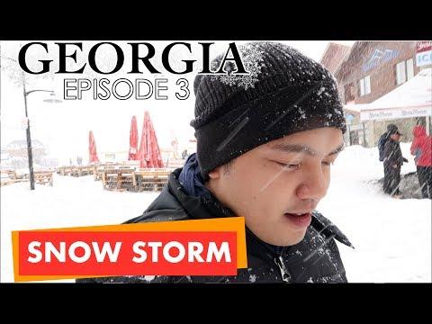 Experience Georgia Snow Storm | Season 1 Episode 3 | Travel Vlog | Lance Alipio