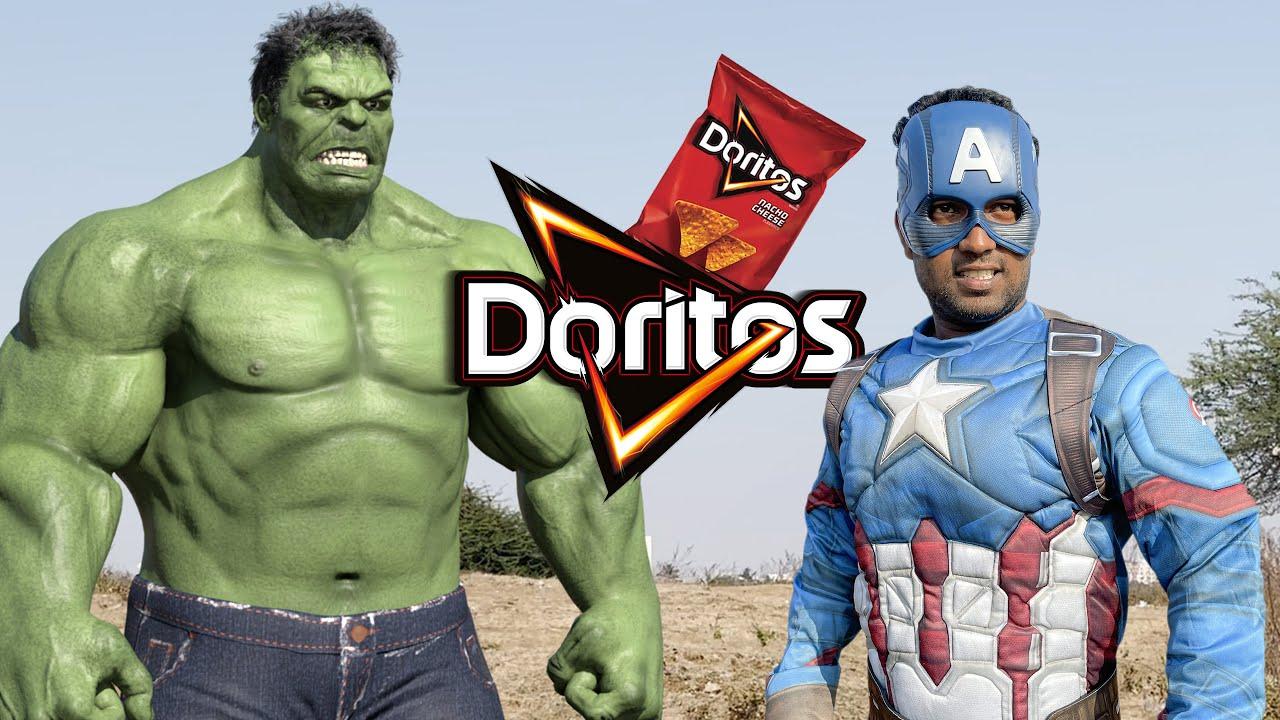 Download Hulk VS Captain America Doritos Thief