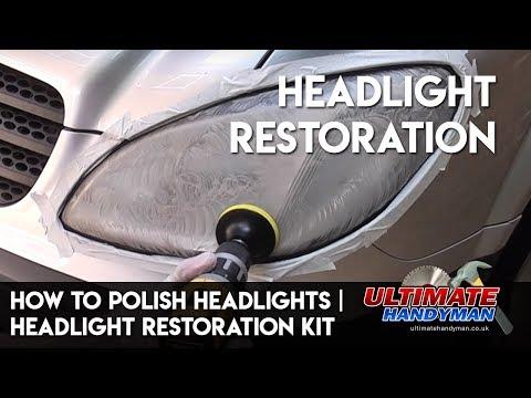 How to polish headlights | Headlight restoration kit