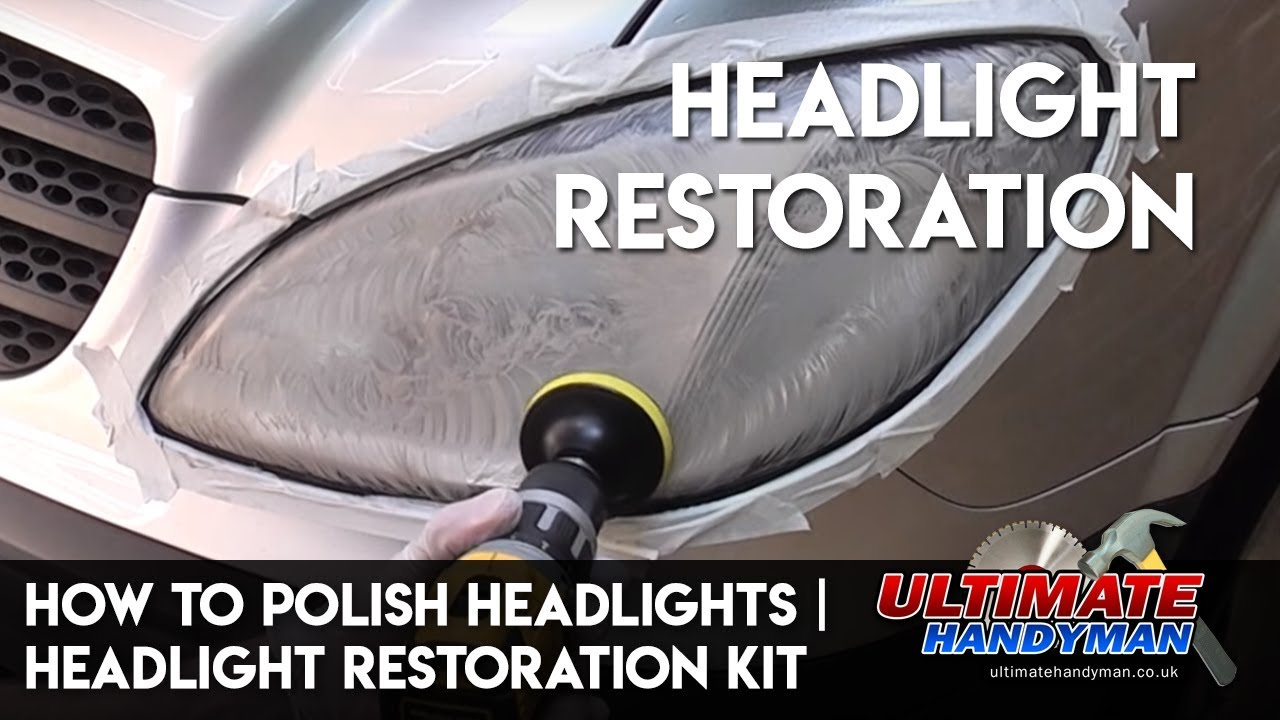 How to polish headlights | Headlight restoration kit